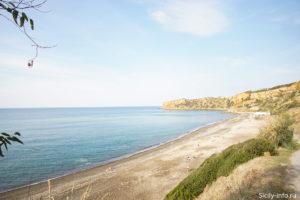 Пляж Поллина Сицилия
