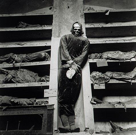 Фото катакомб капуцинов в Палермо