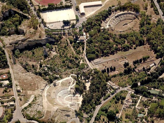 Парк неаполис в Сиракузах