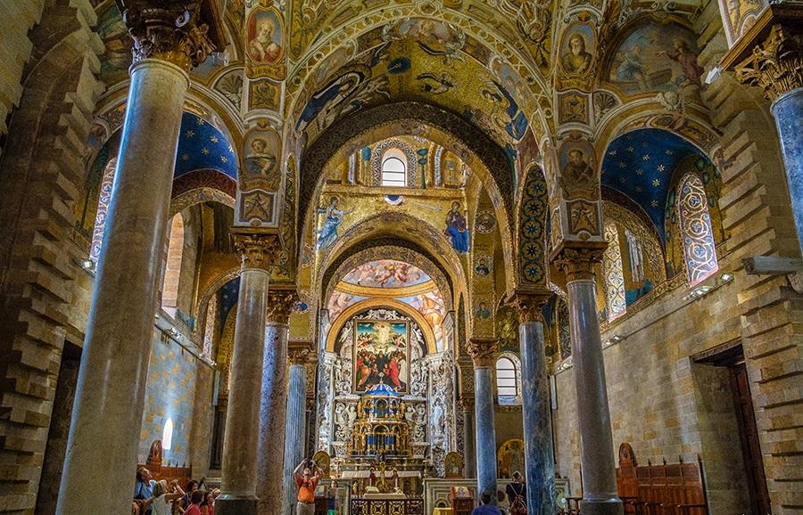 Церковь Марторана в Палермо