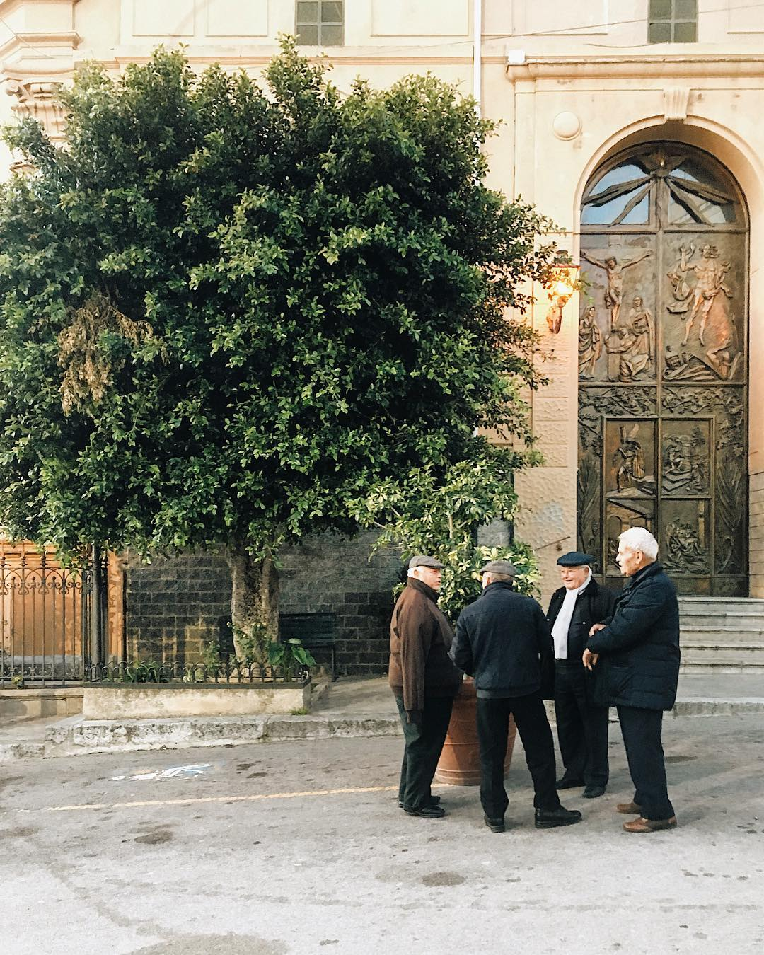 Сицилийские пенсионеры