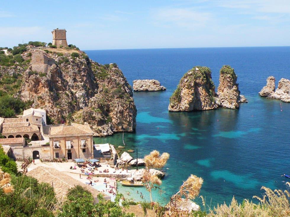 Пляж Скопелло Сицилия