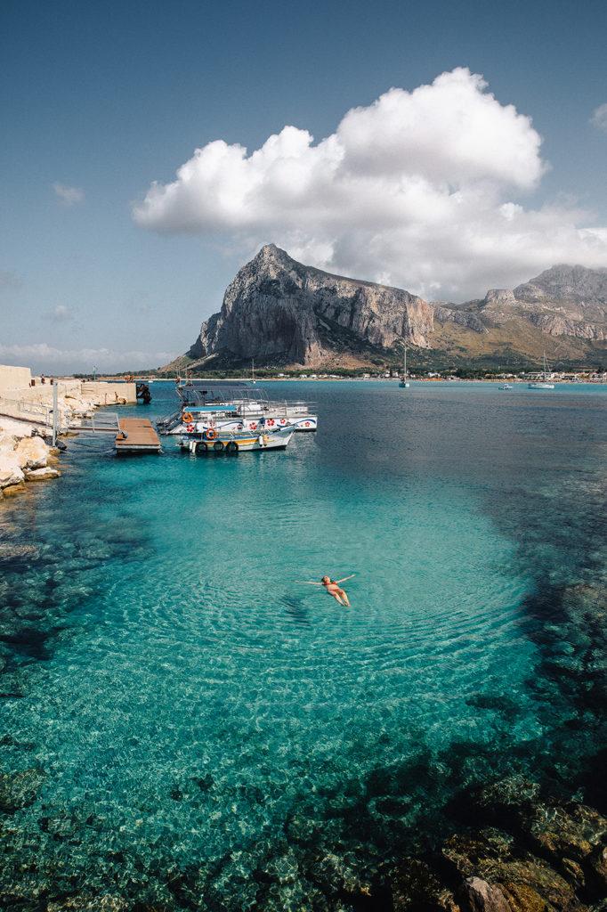 Пляж Сан Вито ло капо Сицилия