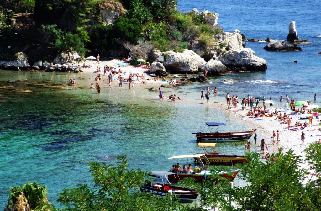 Пляж Таормины
