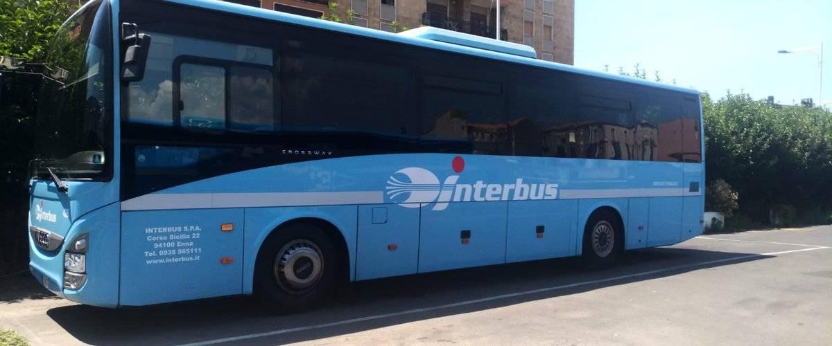 Автобус компании interbus