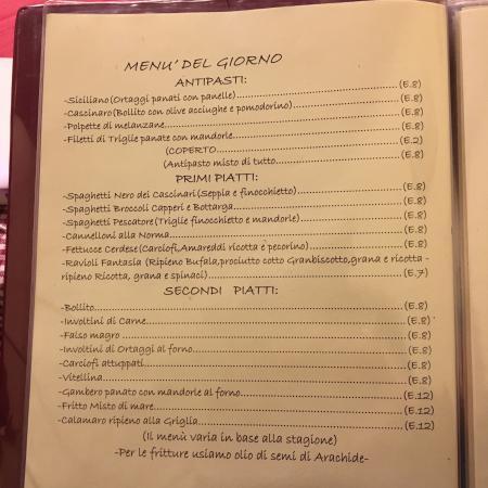 Где поесть в Палермо траттория