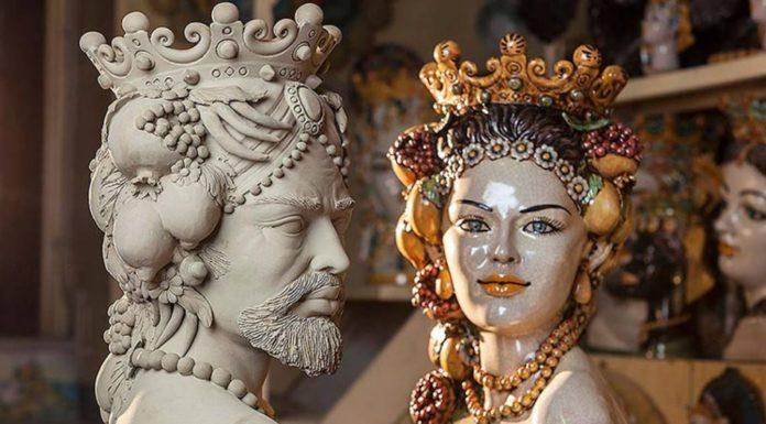 Символы Сицилии. Голова Мавра.
