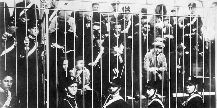 Суд в Палермо 1928