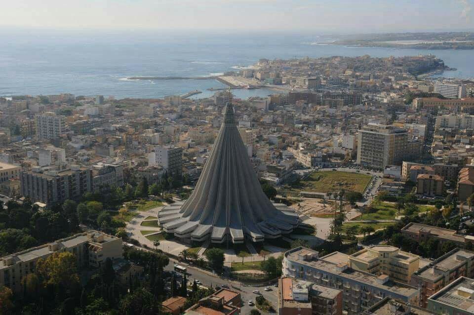 Церковь плачущей мадонны Сиракузы
