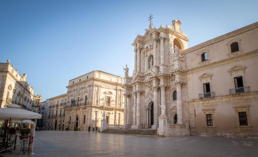 Достопримечательности Сиракуз - Piazza Duomo