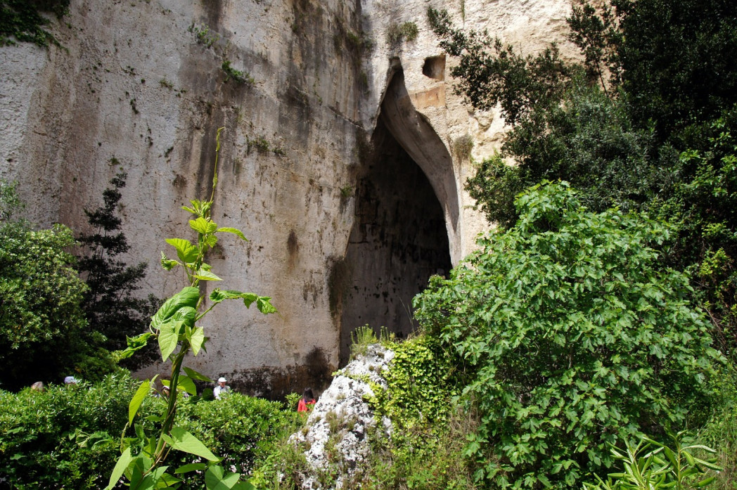 Ухо Дионисия в Сиракузах