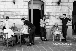 Дольче Габбана Мужчины Сицилия