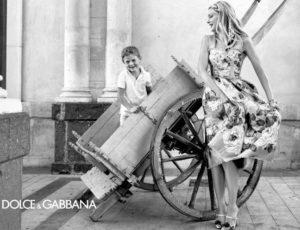 Женская коллекция Дольче и Габбана Сицилия