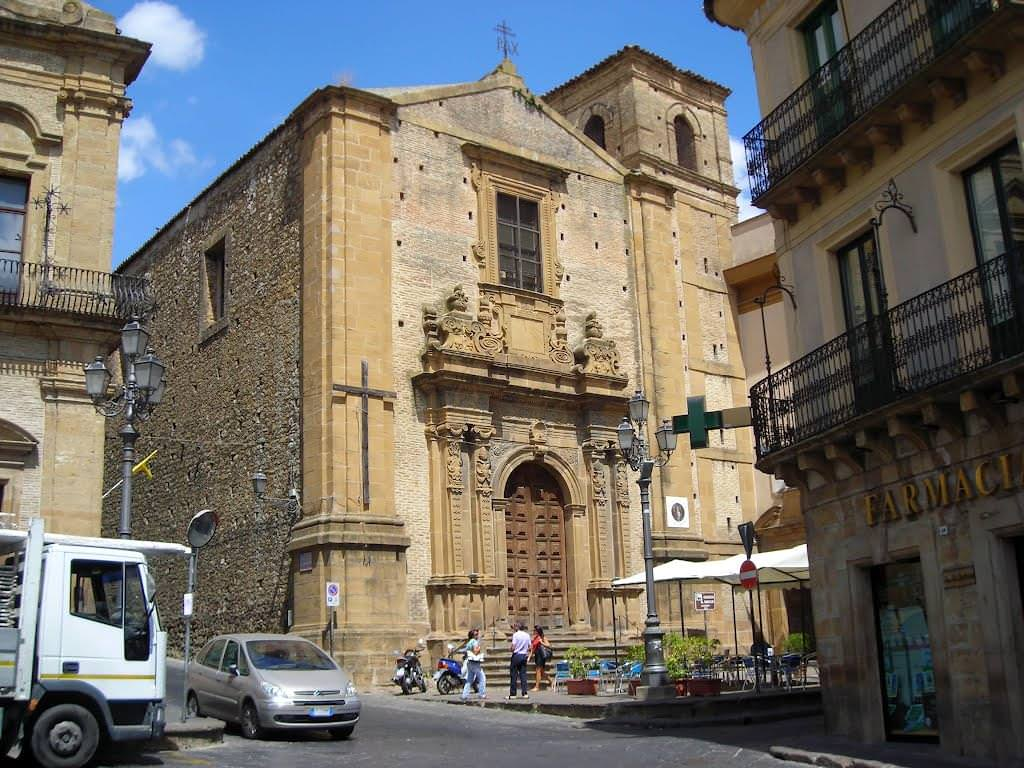 Церковь сан рокко Пьяцца-Армерина