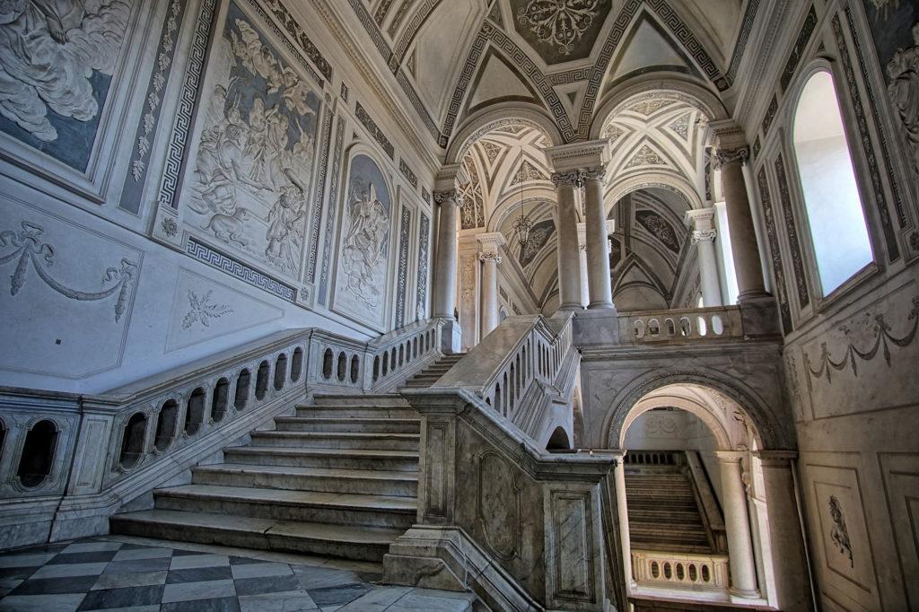 Лестница монастырь Катании