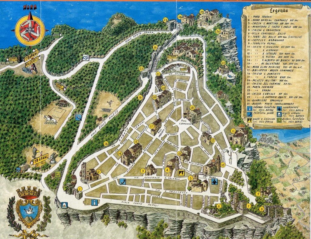 Карта Эриче